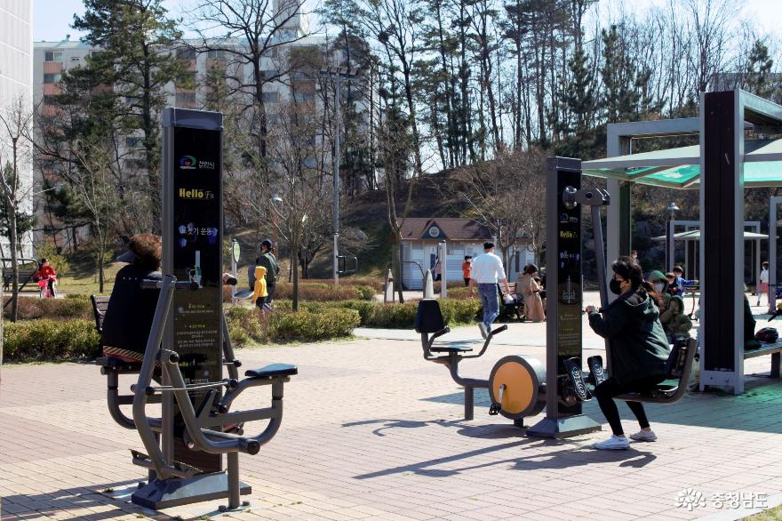 코로나19로 인한 답답함 해소, 천안 쌍용공원 산책으로!! 사진