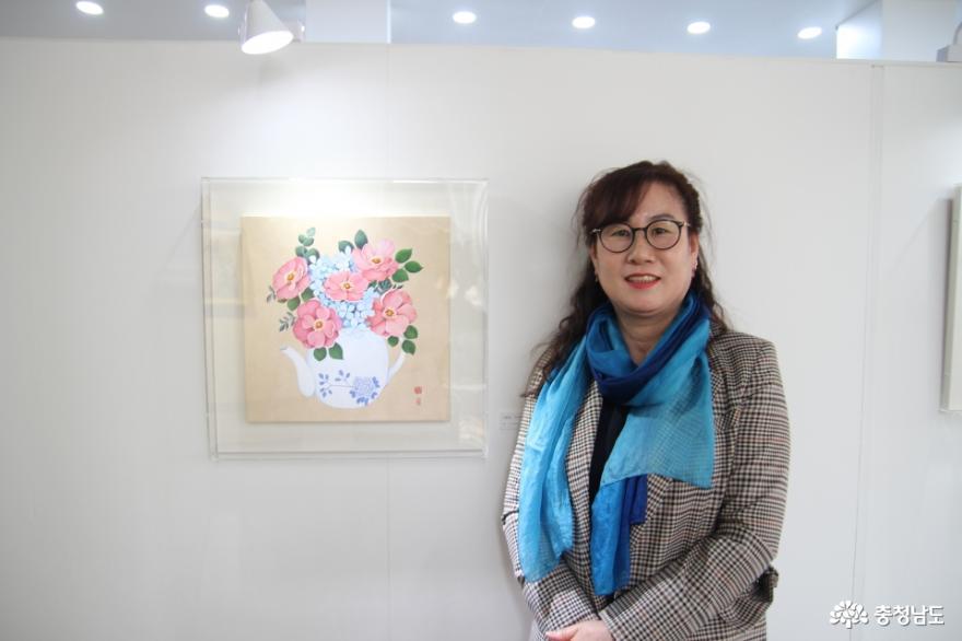 송명희 작가, 한국화 개인전...늘꿈갤러리에서 4월30일까지