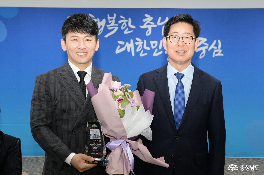 저출산 극복 홍보대사 박지헌·백정현 위촉