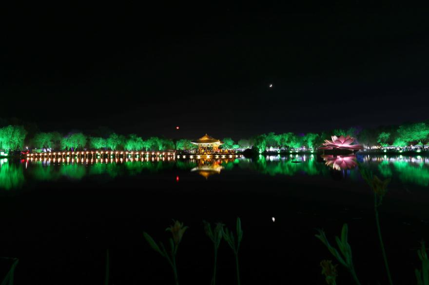부여 궁남지·정림사지 한국관광공사 야간관광 100선 선정