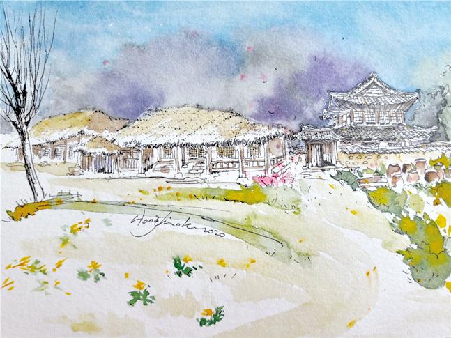 전통한옥과 일본식 건축의 만남