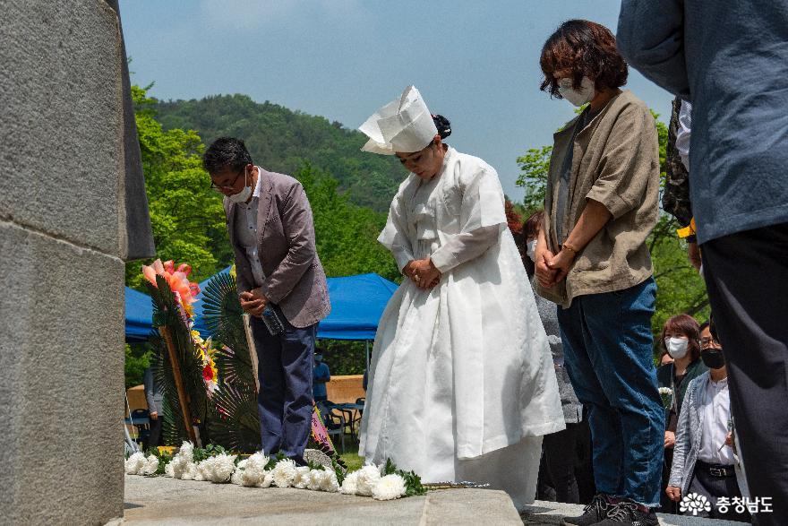 공주에서 126주년 동학농민혁명 우금티기념식 열려 11