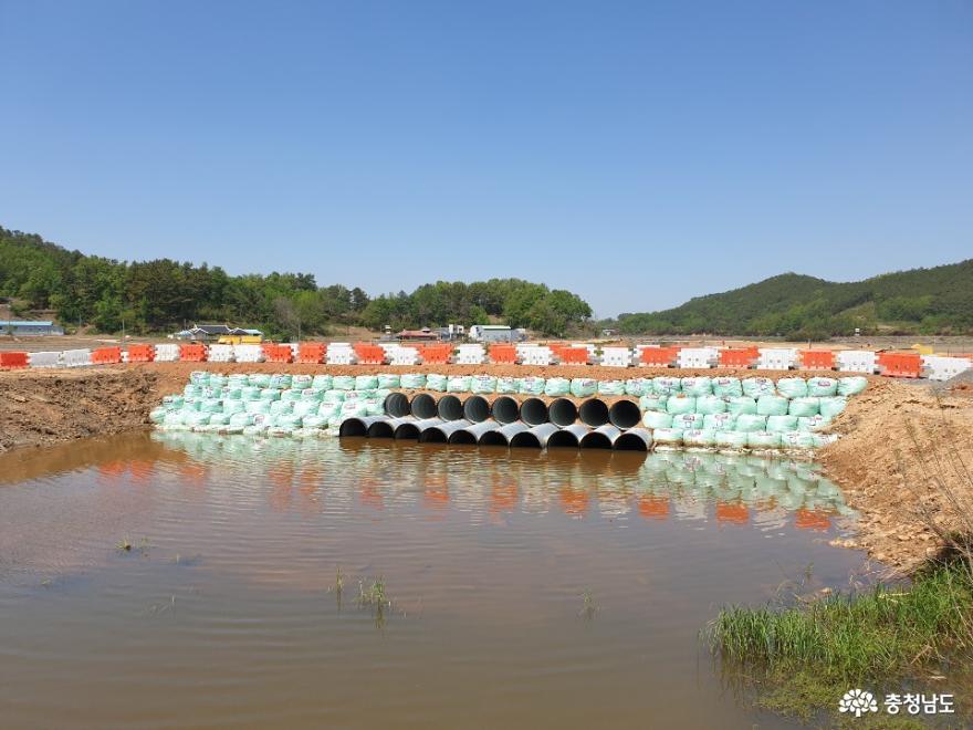 서천군 도마천 자연재해위험 개선지구 정비사업 '순항'