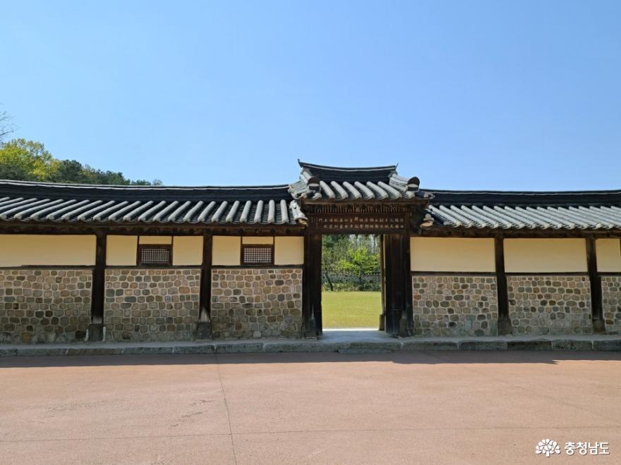 예산 여행, 화순옹주홍문 열녀문과 김한신 합장묘 사진