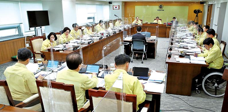 도의회 예산결산특별위원회는 5월 18-19일 2020년도 제2회 충남도 및 제1회 충남도교육비특별회계 추가경정예산안을 심의했다.
