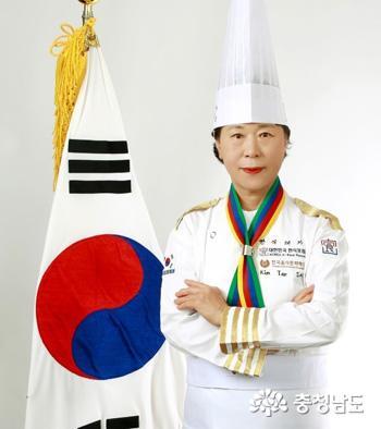 김태순, '대한민국 한식대가' 칭호 인증