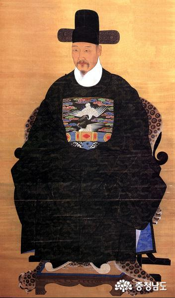 박문수 영정(보물 1189호). 천안박물관 제공.