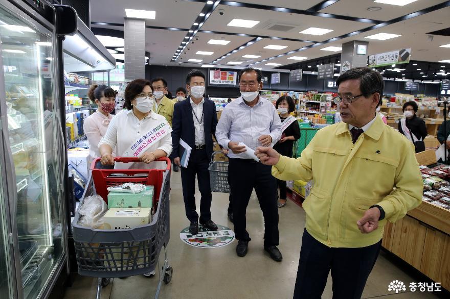 서천군, 모바일상품권 사용 캠페인 실시