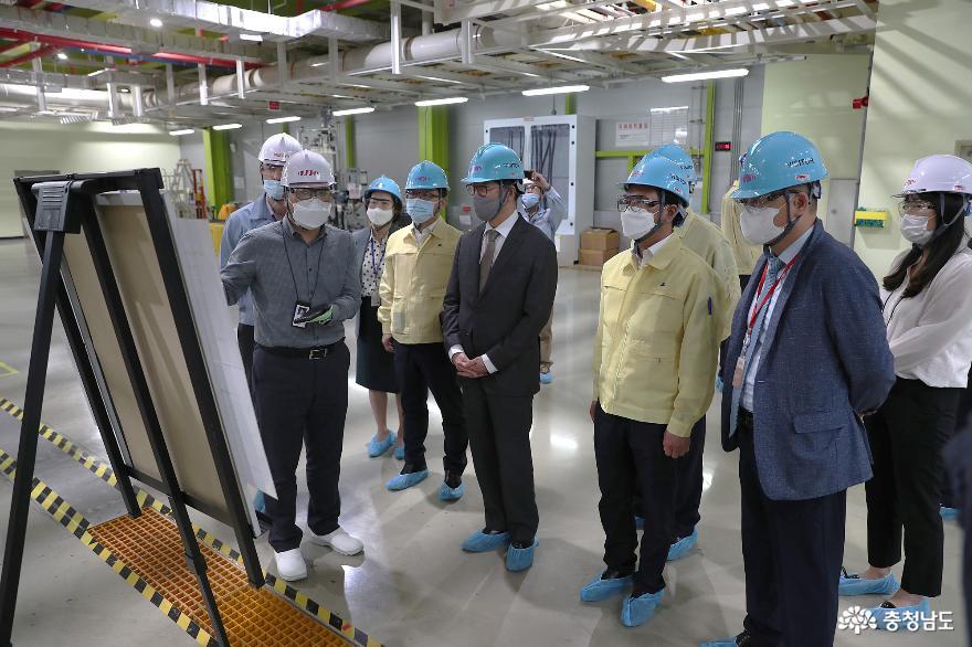 """양승조 지사, """"반도체 핵심 소재 개발·생산 충남이 앞장"""" 2"""
