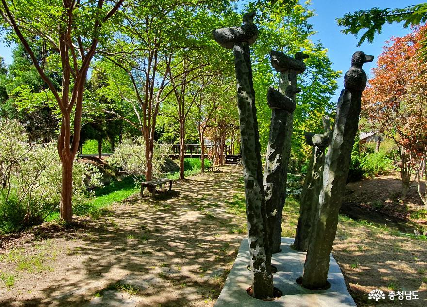 청산수목원