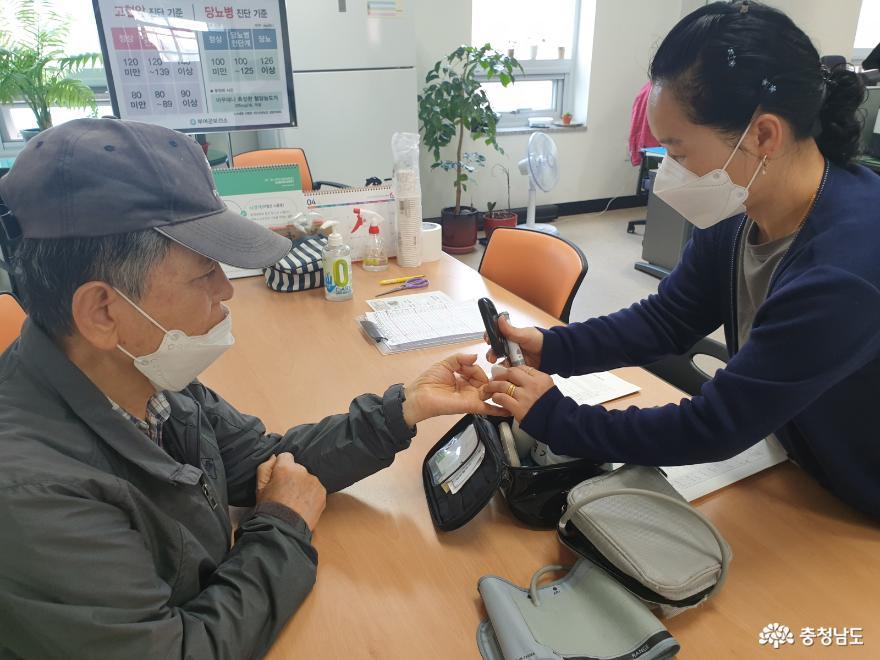 부여군, 심뇌혈관질환 및 합병증 검진 지원