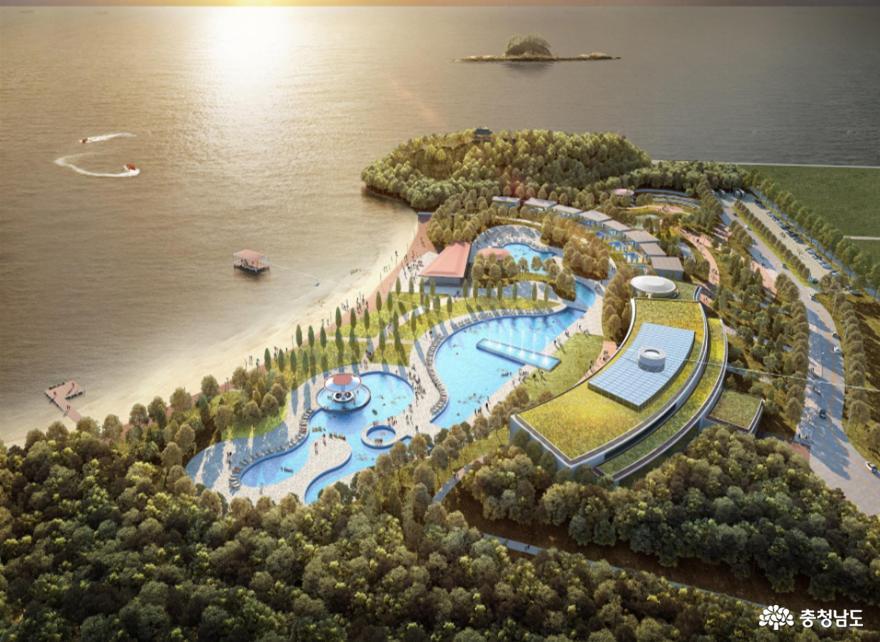 한국중부발전, 동백정해수욕장 복원 계획 확정 발표