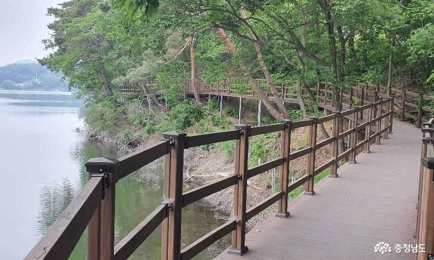 천흥저수지 수변데크 산책로 5.