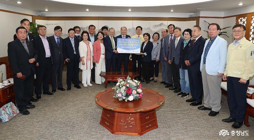 사회적 배려 계층 위한 쌀 415포대 기부 2