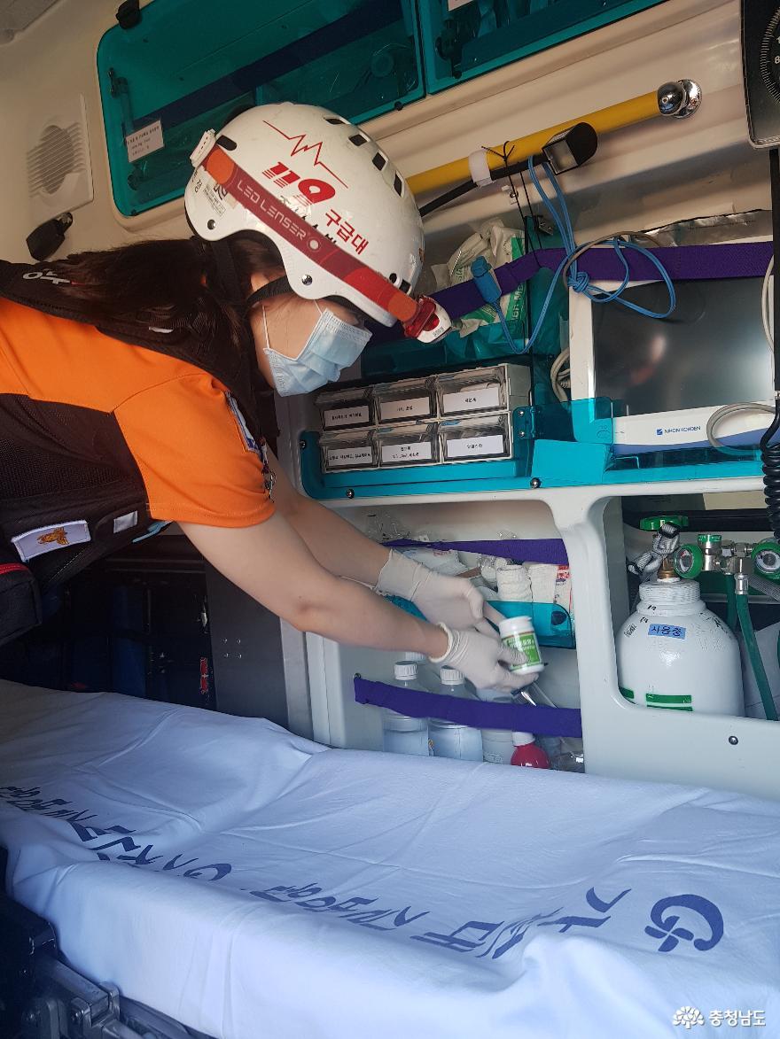 충남소방, 이른 더위에 '폭염 대책' 시동 건다 사진