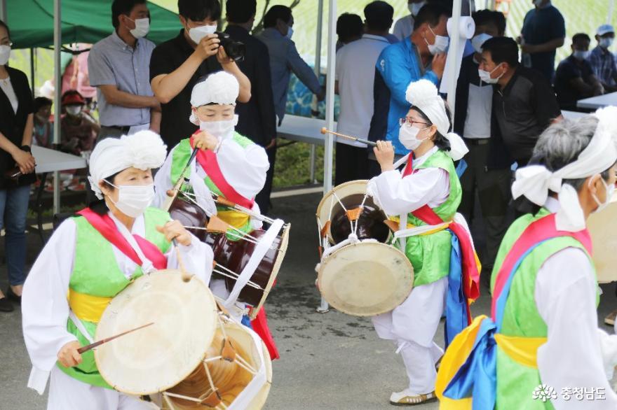 건강한 밥상의 힘, 천안시 2020년 친환경쌀 우렁이 방사식 3