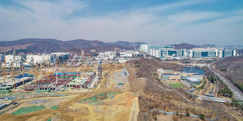 충남 아산 삼성 13조원 투자 '순항'