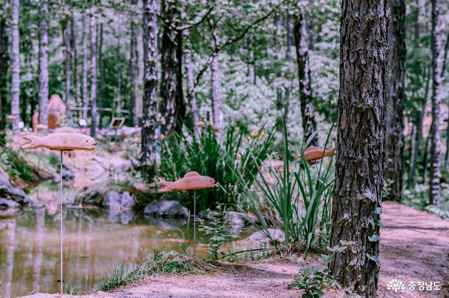 숲향기 가득한 연미산자연미술공원
