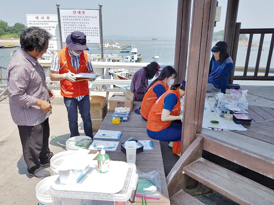 고수온 대비 '양식어류이동병원' 운영