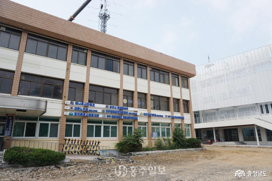 옛 당진군청사 본관 철거, 도심광장과 주차장 조성