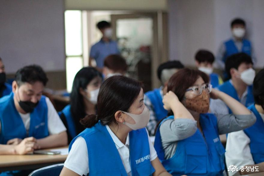 The 봉사단, 천안 신아원 아이들과 예쁜이비누만들기 봉사 8