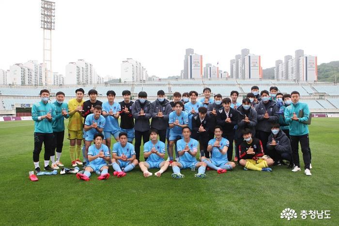 코로나19 확진자 방문 영향…천안시축구단 주말 원정경기 다음달 1일로 연기
