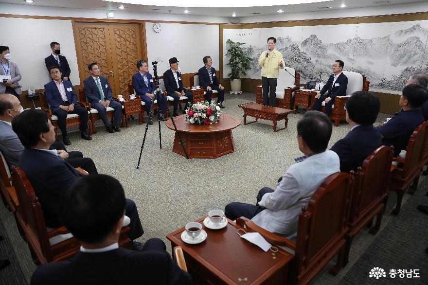 재경도민회와 지역 발전 사업 추진 논의