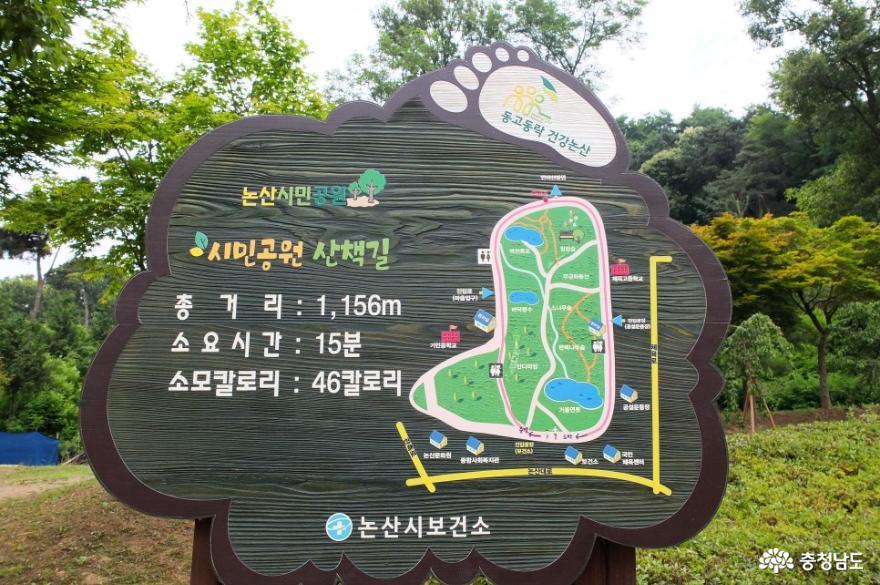 논산시민공원과 관촉사를 잇는 반야산 산책길 걷기 1
