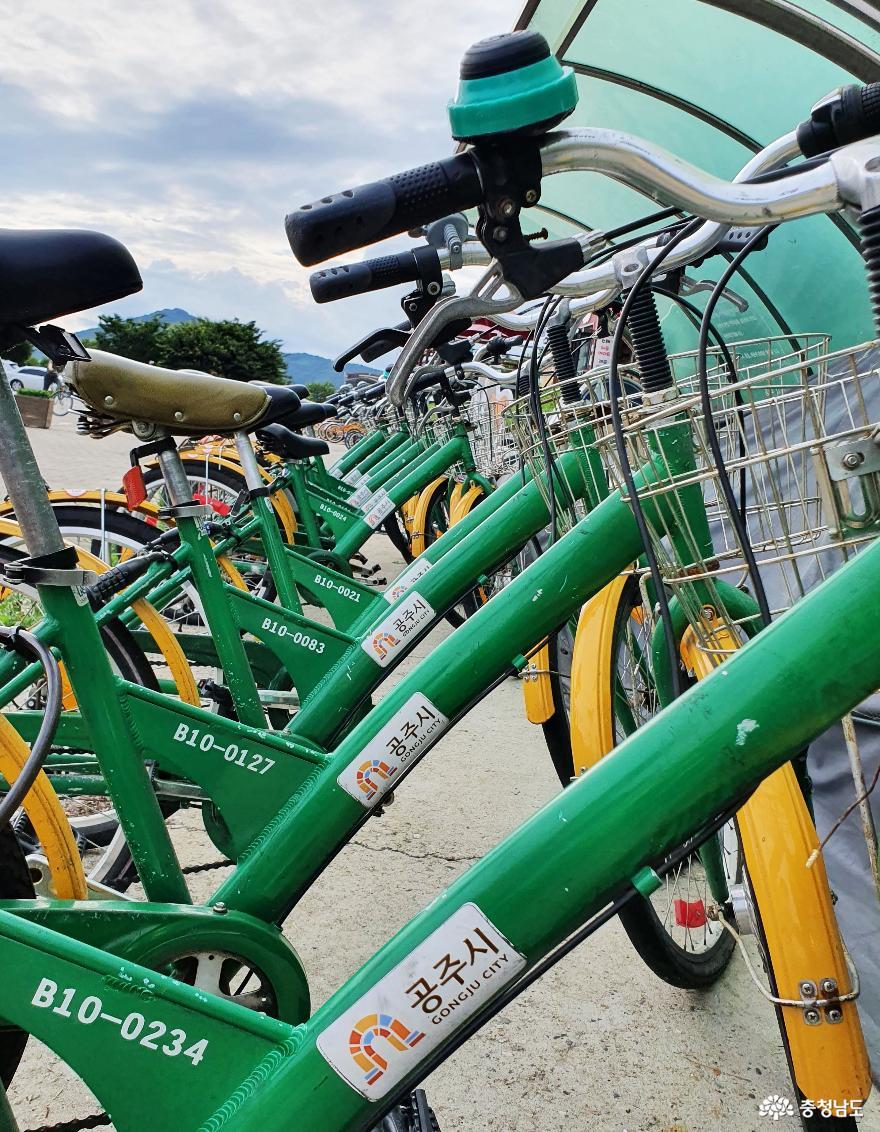 자전거 타고 즐기는 금강 신관공원 사진