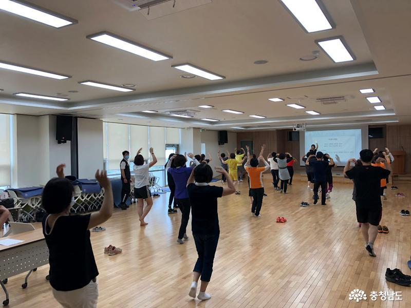 홍성군, 올바른 걷기 실천을 위한 걷기 교육 실시