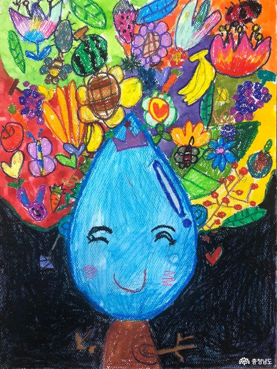 조서아·윤서원 학생 '물 사랑 공모전' 대상