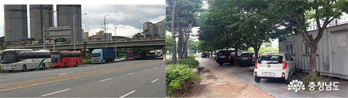 천안아산역 인근 '불법 주정차' 만연…'지역관문'으로서 이미지 추락 우려 1