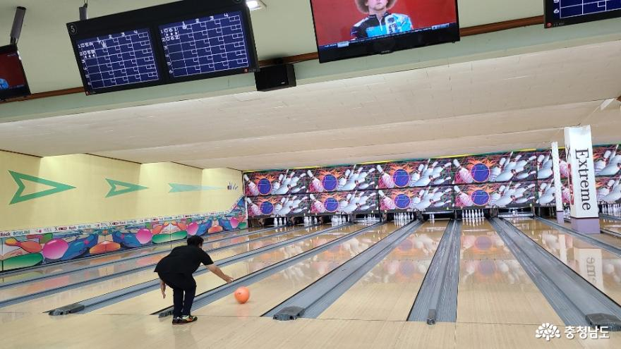 2020 아산시 장애인볼링교실 열려 사진