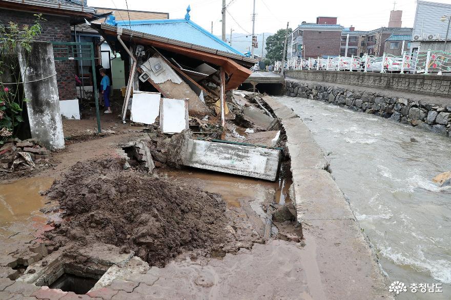 양승조 지사, 4개 시군 특별재난지역 선포 건의 2