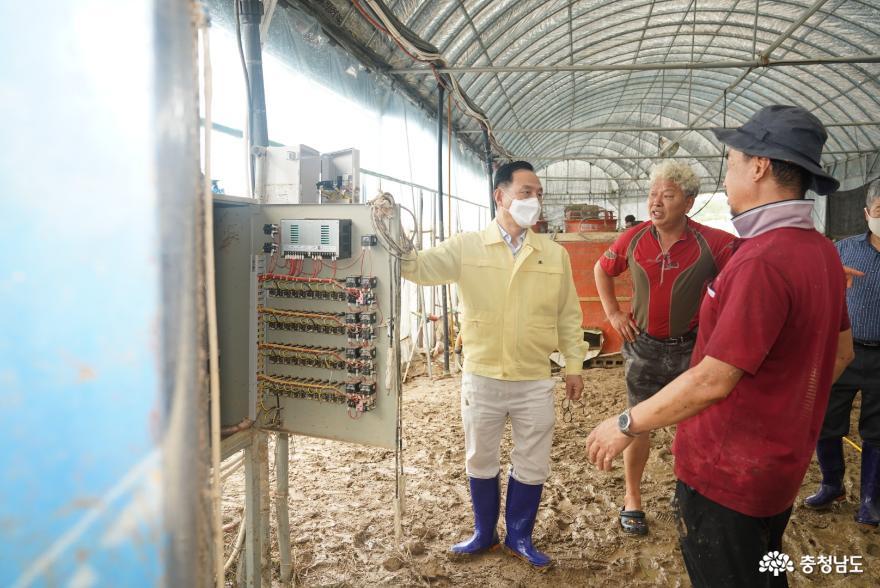 천안시 특별재난지역으로 선포 '항구복구에 전념' 사진