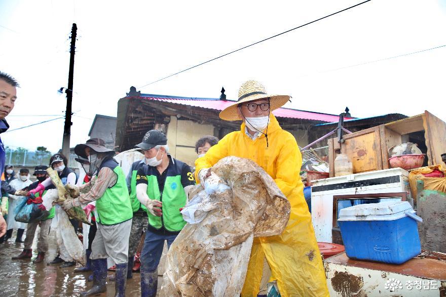 천안시, 호우 피해 조기 복구를 위한 TF팀 구성 운영