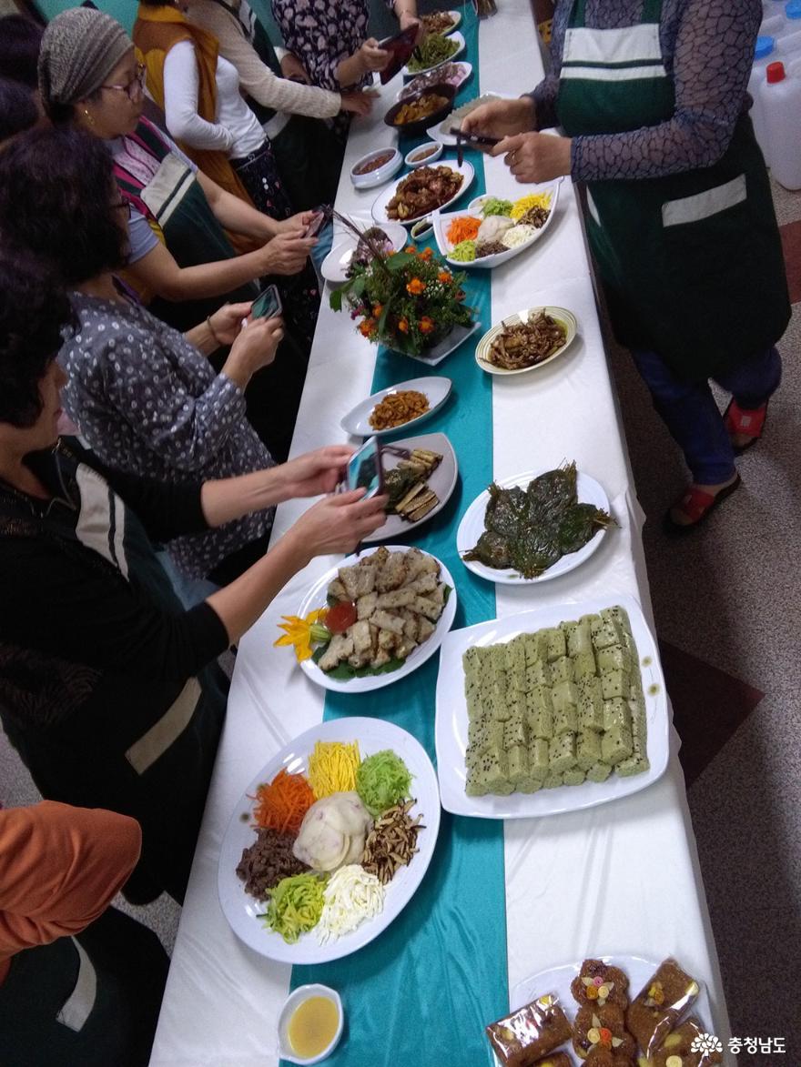 각자의 특색있는 음식도 연구의 대상이다.