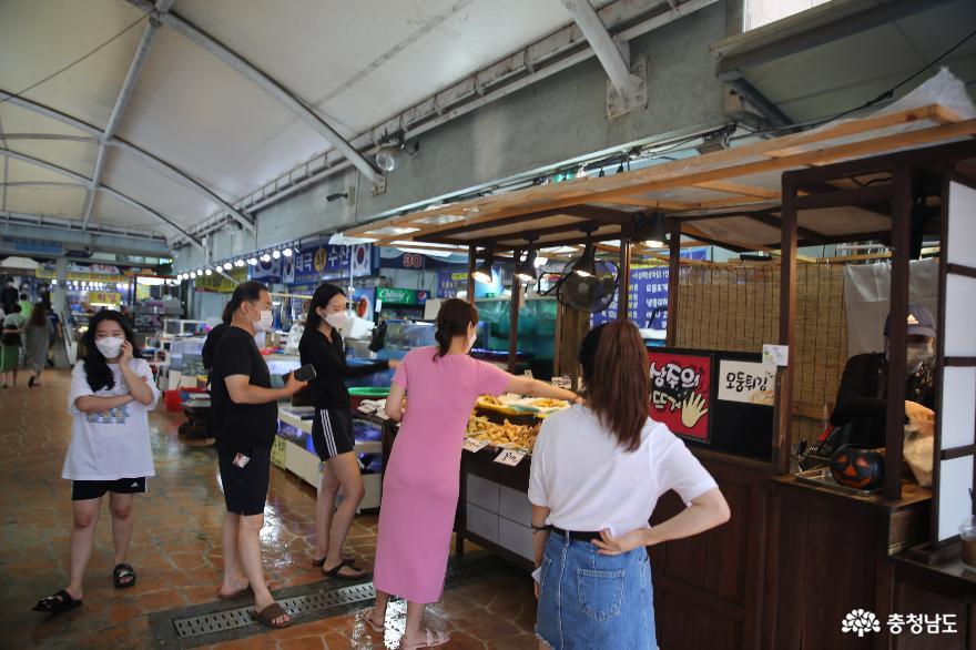 온택트 추석에 온라인으로 소개하는 안면도 수산시장