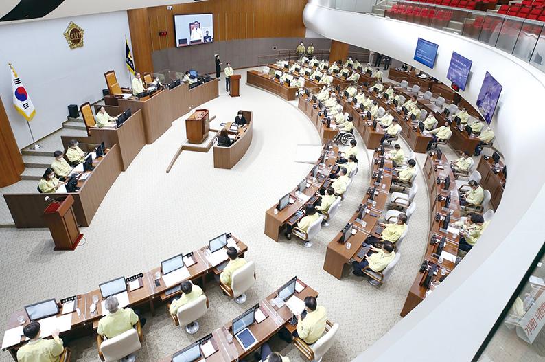 도의회, 비대면 의회 운영
