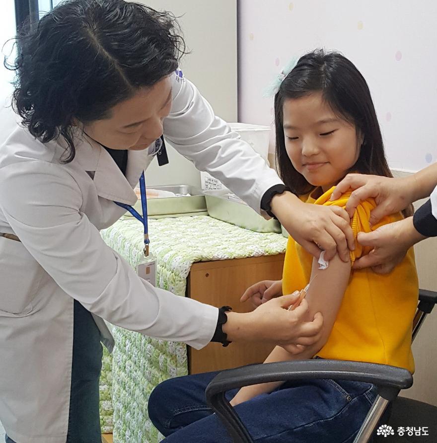 태안군, '인플루엔자 예방접종' 시작!