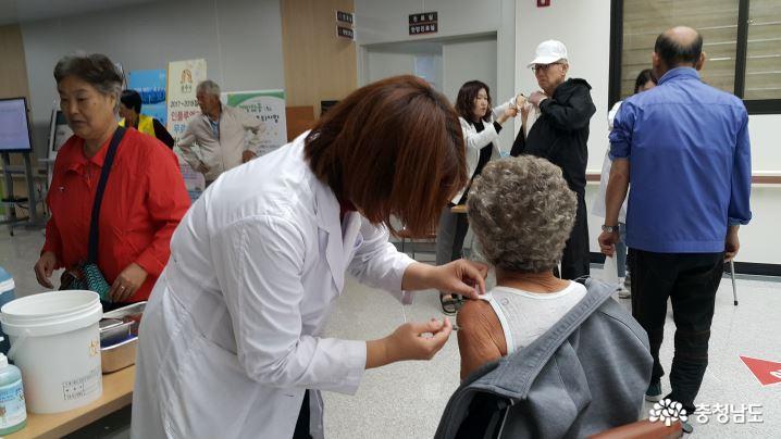 공주시, 인플루엔자 무료접종 대상 확대…시민 52% 해당