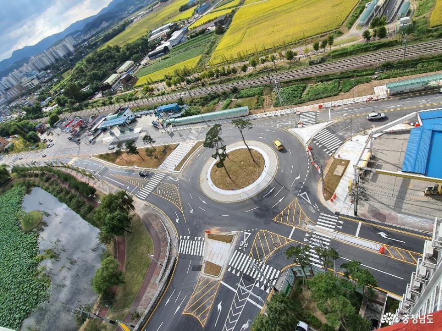 천안시, 추석 전 시공 중인 주요도로 앞당겨 임시 개통