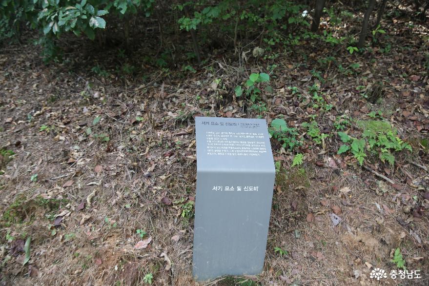 이지함의 배움을 이었던 공주 서기 묘소 사진