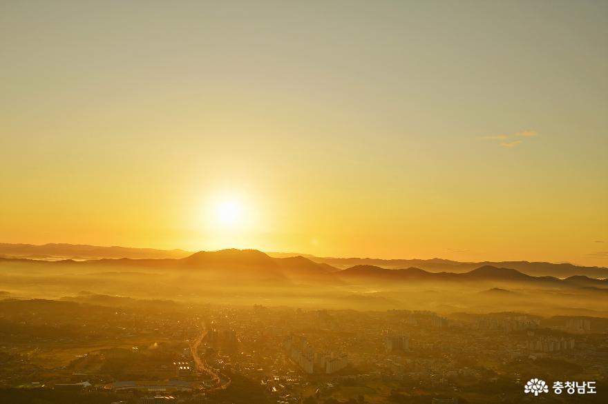 아름다운 홍성의 풍경을 만날 수 있는 백월산 일출 산행 4