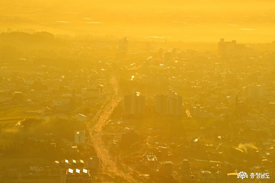 아름다운 홍성의 풍경을 만날 수 있는 백월산 일출 산행 5