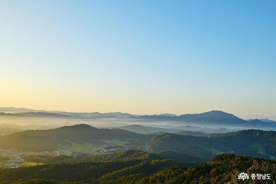 아름다운 홍성의 풍경을 만날 수 있는 백월산 일출 산행 7