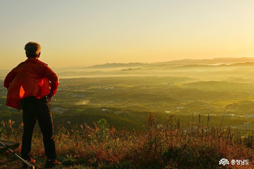 아름다운 홍성의 풍경을 만날 수 있는 백월산 일출 산행 8