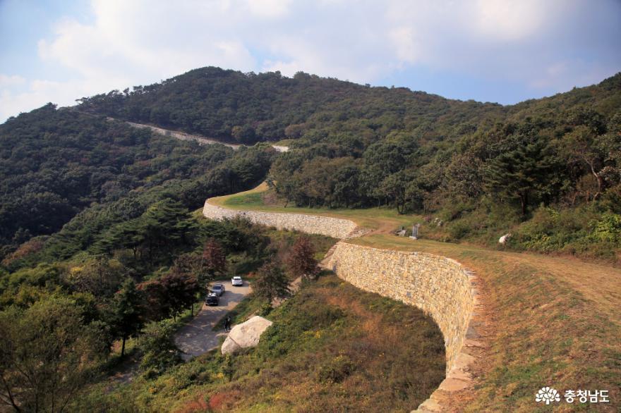 봉수산에서 본 아름다운 예당호 사진