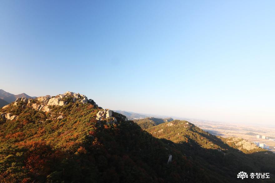 노적봉에서 바라본 풍경