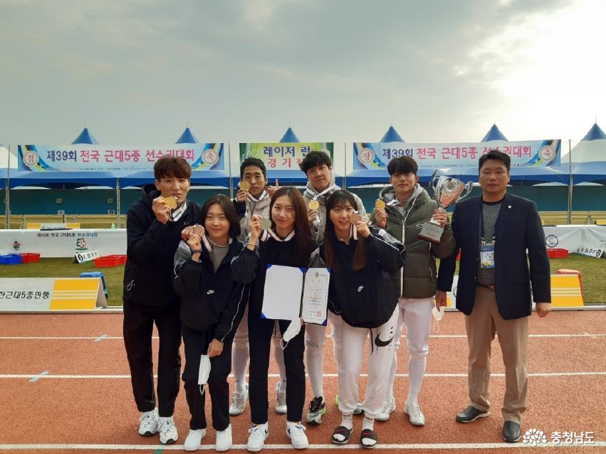 전국 근대5종 선수권대회 금 2·은 2 '쾌거'